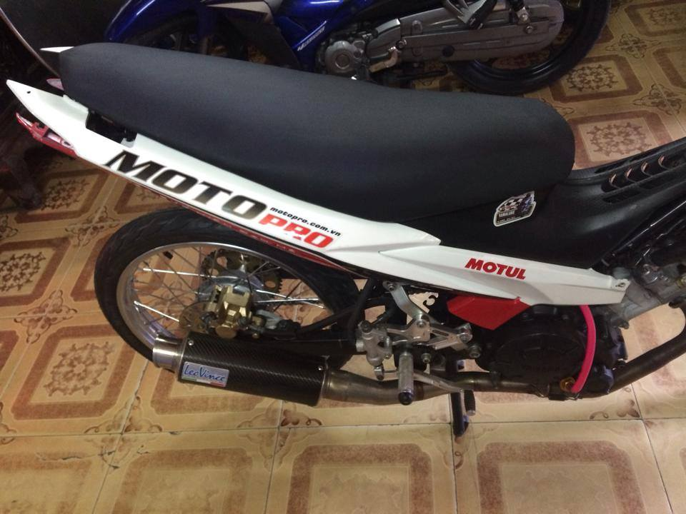 Exciter Drag 400m khung cua CLB Motopro Racing - 4
