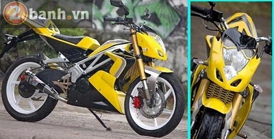 Exiter do naked bike va transformer