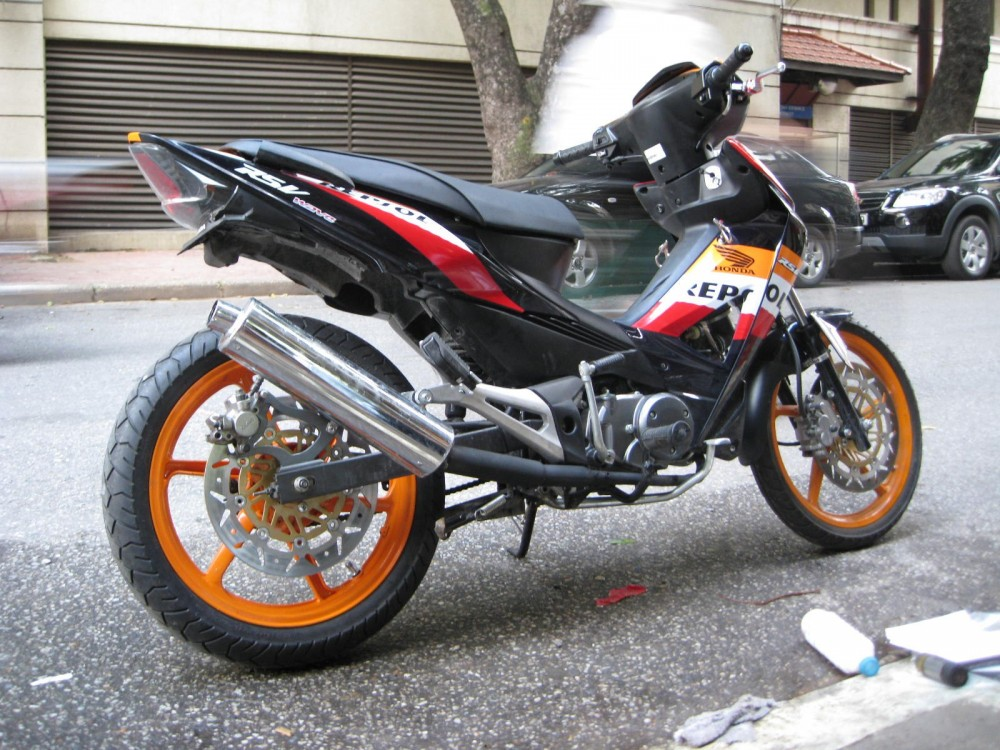 Honda Wave do don gian dep - 4