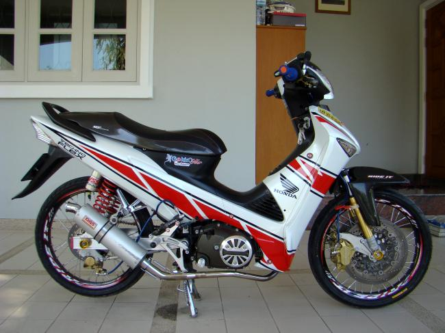 Honda Wave do don gian dep - 5