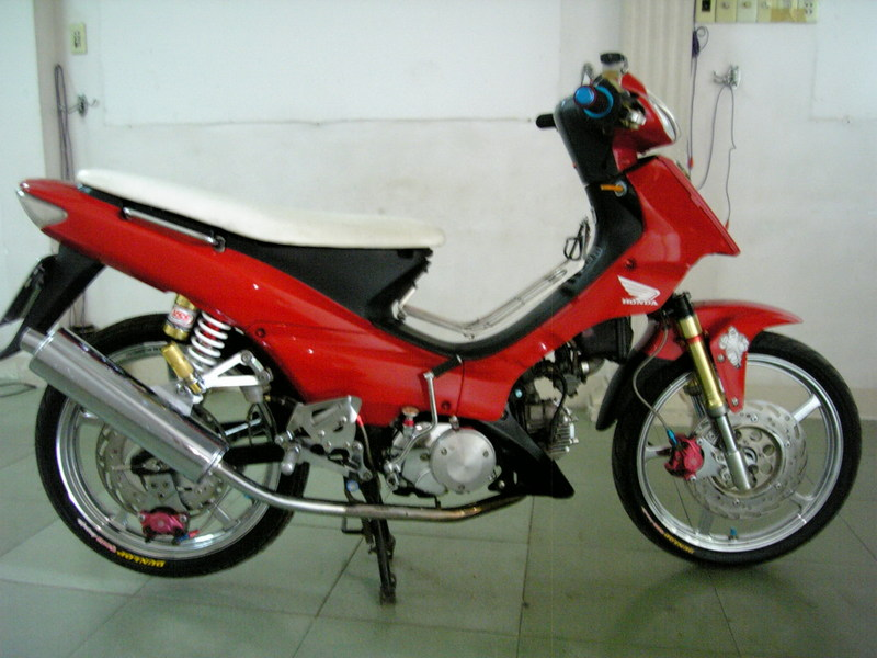 Honda wave do ac quy