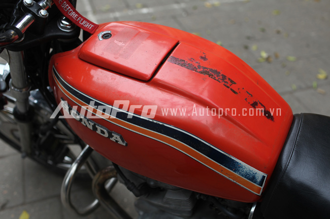 Hondamatic CB400A Hawk hon tay ga da hang con - 15