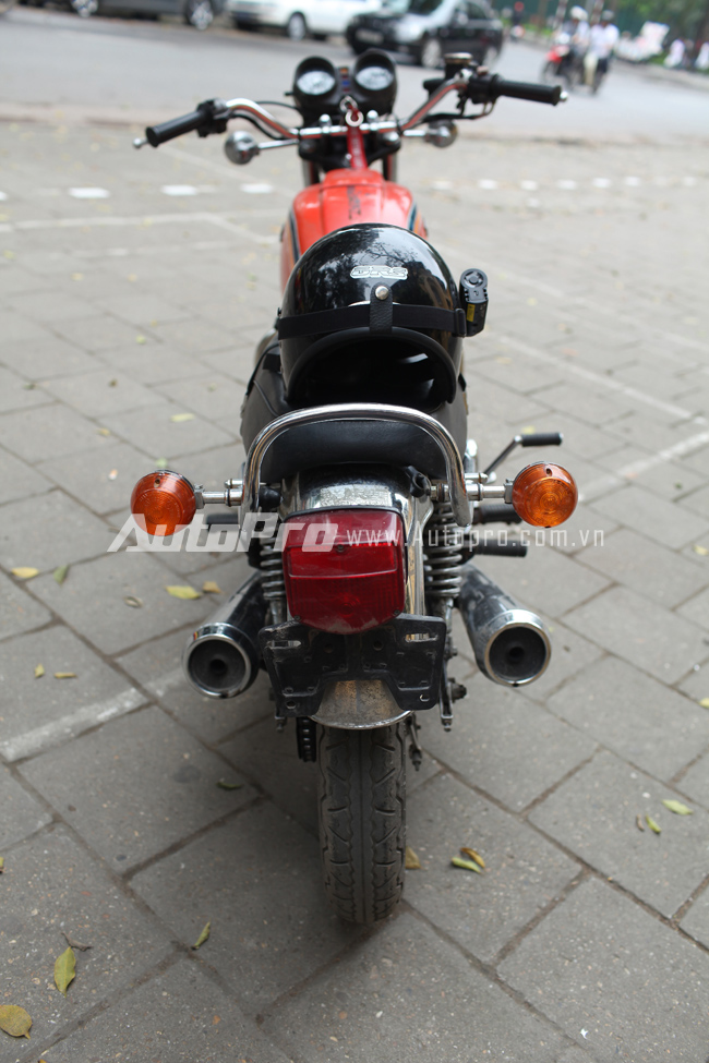 Hondamatic CB400A Hawk hon tay ga da hang con - 17