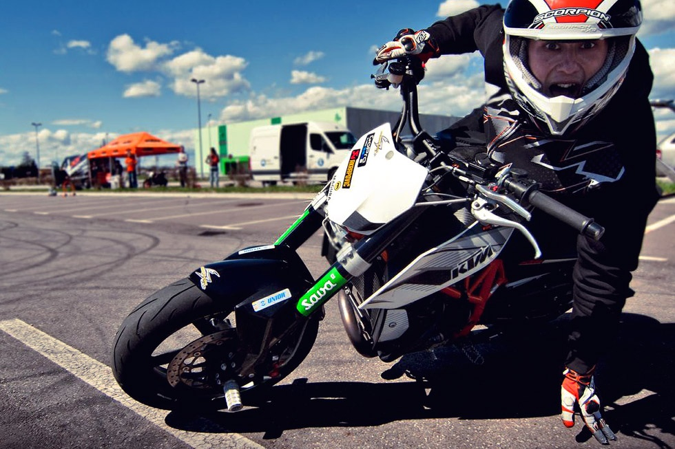 Kawasaki KSR Pro do do khung cuc chat
