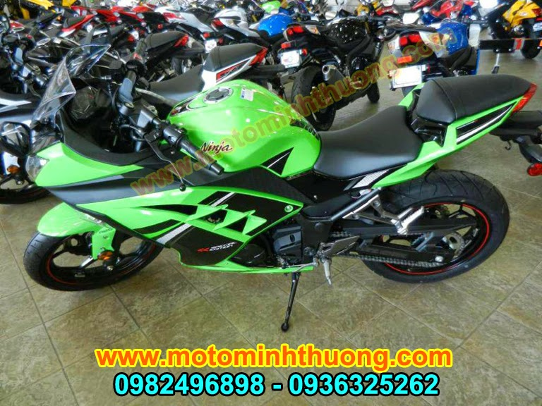 Kawasaki Ninja 300 ABS 2014 hang chat gia tot - 3