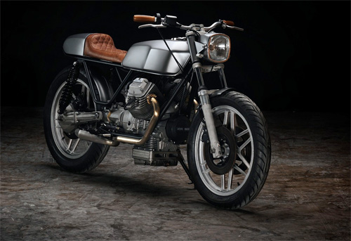 Moto Guzzi V50 cafe racer khong the don gian hon