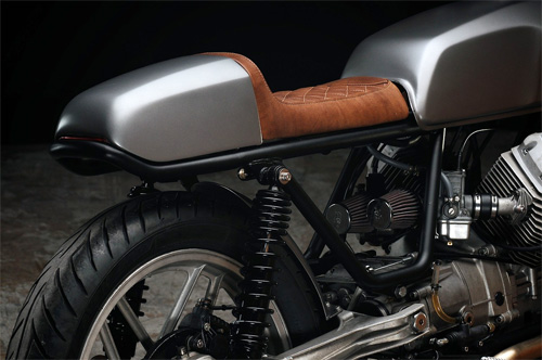 Moto Guzzi V50 cafe racer khong the don gian hon - 5