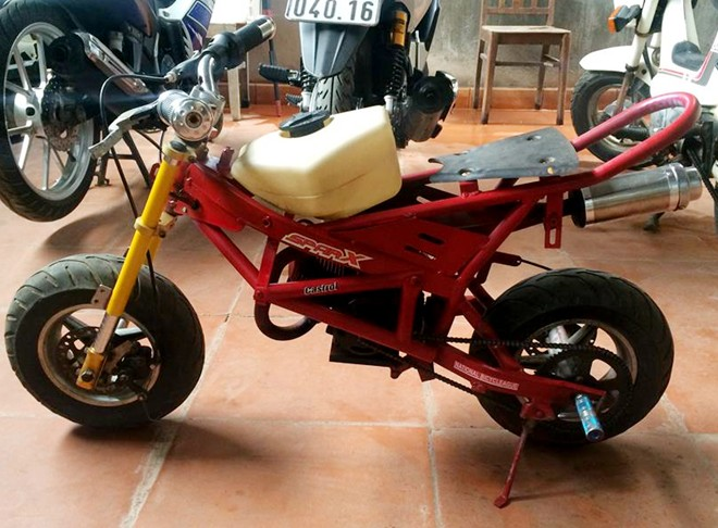 Ngam xe do mini phong cach Ducati Streetfighter tai VN - 2
