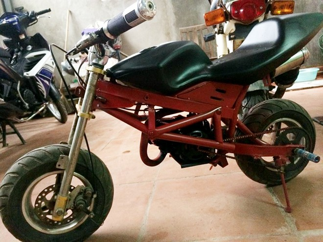 Ngam xe do mini phong cach Ducati Streetfighter tai VN - 3