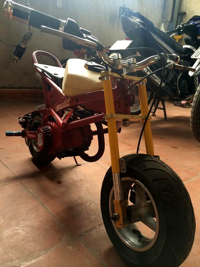 Ngam xe do mini phong cach Ducati Streetfighter tai VN - 5