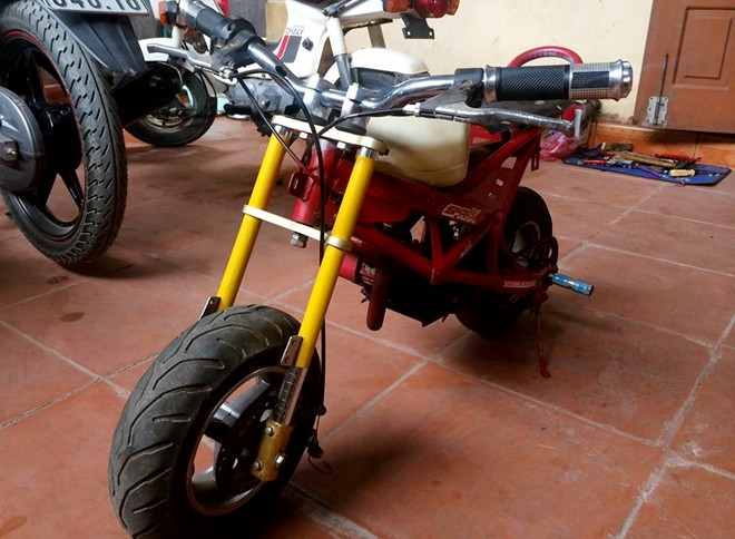 Ngam xe do mini phong cach Ducati Streetfighter tai VN - 6