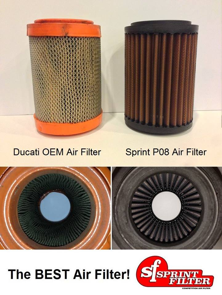 SPRINT FILTER_ SAN PHAM AIR FILTER RAT HIEU QUA CHO XE MO TO - 2