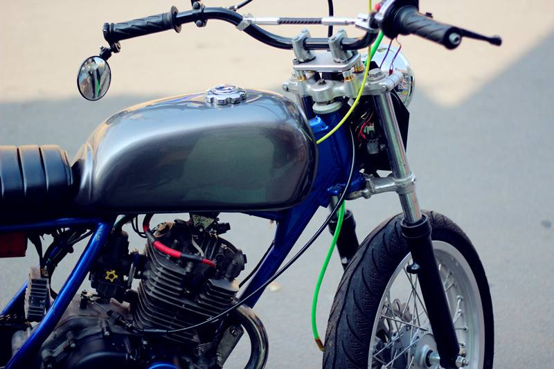 Tracker Gn125 full option len san - 3