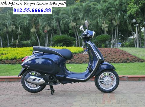 Vespa Sprint dong xe piaggio moi phong cach y chi can 21900000 vnd