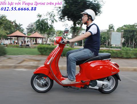 Vespa Sprint dong xe piaggio moi phong cach y chi can 21900000 vnd - 3