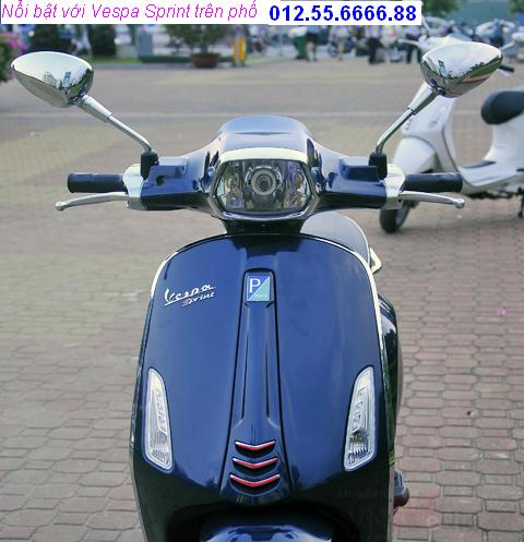 Vespa Sprint dong xe piaggio moi phong cach y chi can 21900000 vnd - 4