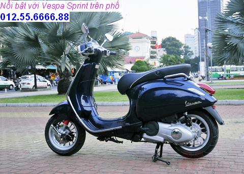 Vespa Sprint dong xe piaggio moi phong cach y chi can 21900000 vnd - 8