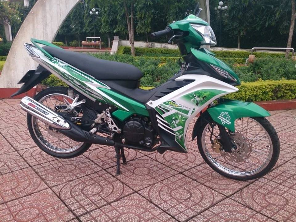 Exciter Dak Nong nhe nhang luot gio