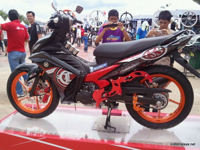 Yamaha LC135 Exciter full option Racing Boy