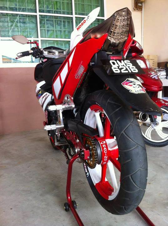 Yamaha X1R trang do noi bat