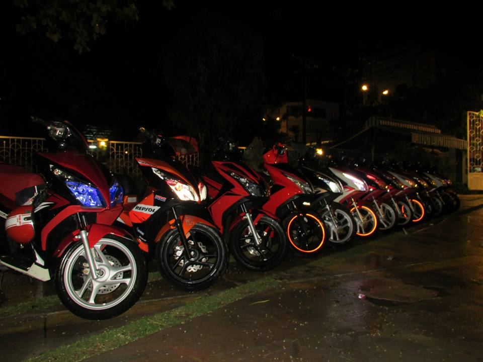 Anh Em hoi Honda Air Blade 125cc OFFLINE lan 2 tai Cafe Toc Do - 7