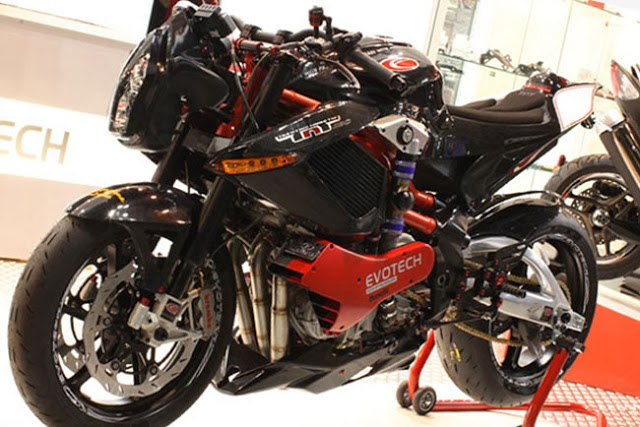 Benelli TNT Tornado 1130 Supercharged 193HP