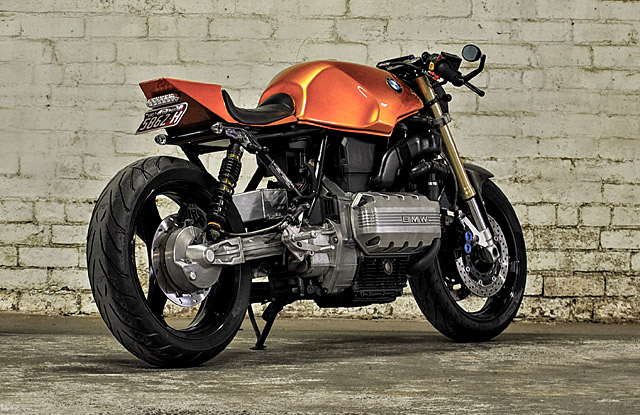 BMW K100RS The Hornet hien dai va co dien cung Cafe racer - 3