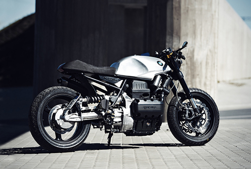 Cafe racer BMW K75 da song day