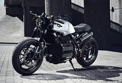 Cafe racer BMW K75 da song day - 6