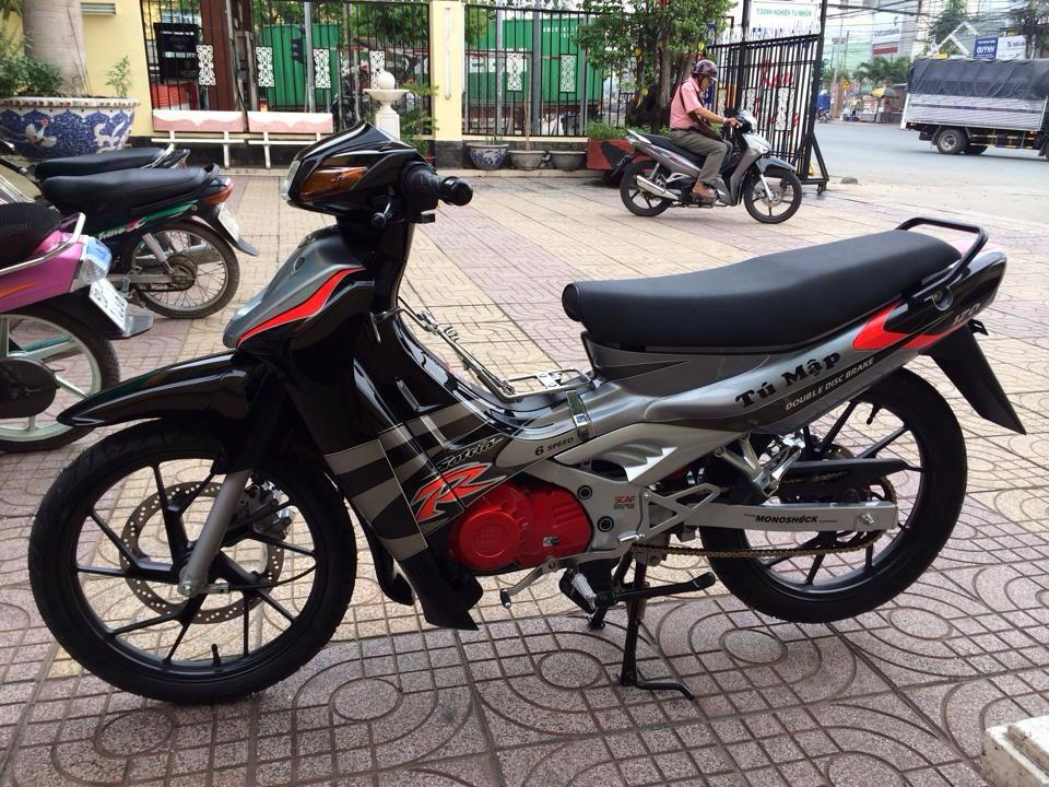 Chiec Suzuki Satria 2000 may do dep long lanh