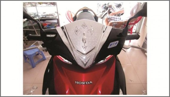 Do choi xe air blade 125 cc - 14