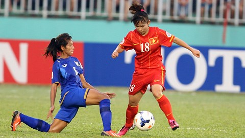 DT nu Viet Nam bo lo co hoi lich su truoc them World Cup