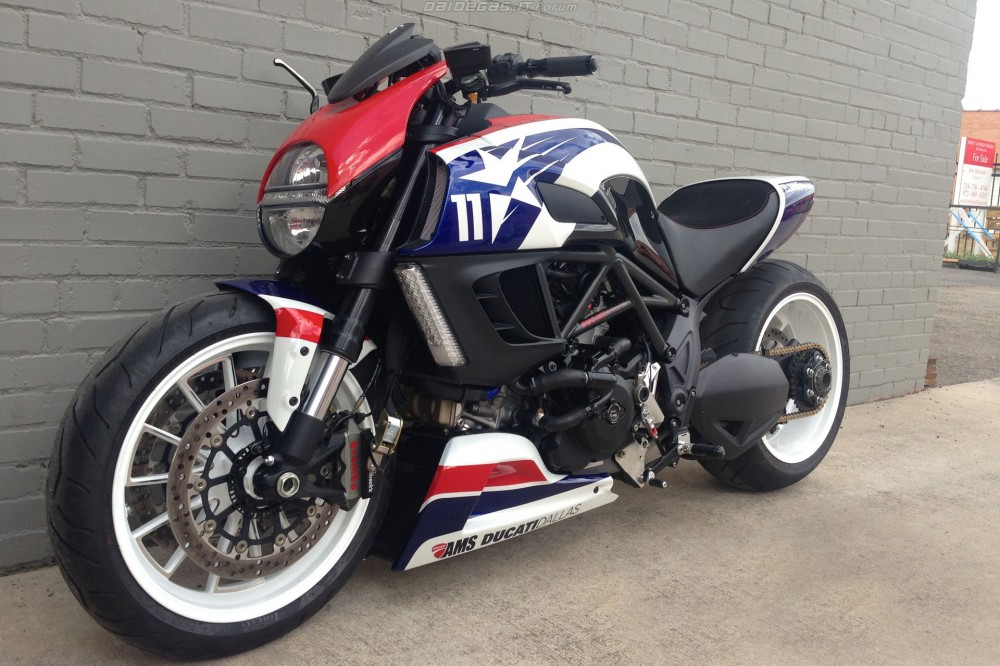 Ducati Diavel Ben Spies Edition