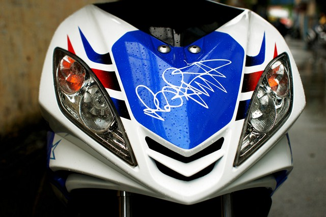 Exciter phong cach Ducati 848 Nicky Hayden - 4