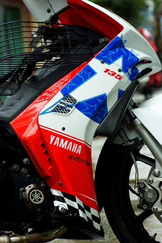 Exciter phong cach Ducati 848 Nicky Hayden - 6