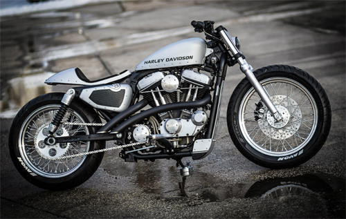 Harley Nightster do cafe racer