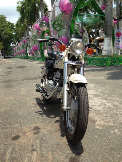 Honda Benly CD125T hang hiem Sai Gon - 4