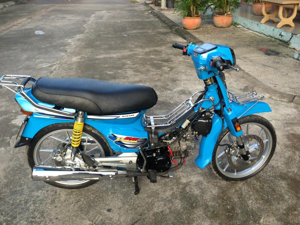 Honda Dream xanh raider - 2