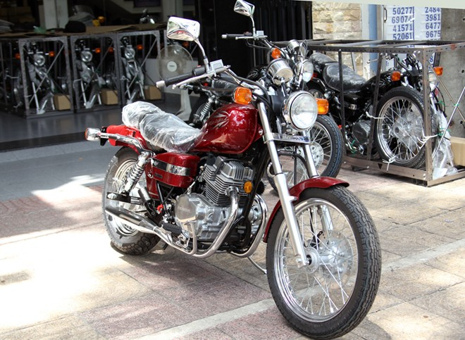 Honda Rebel 250 2014 vua ve Viet Nam