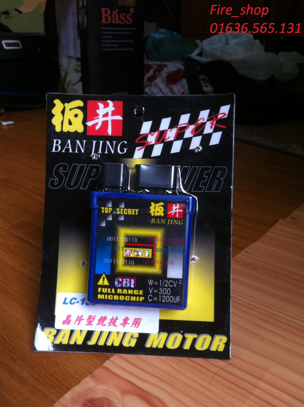 IC banjing horse power racing tim cho Exciter Dream Wave Fire_shop - 2