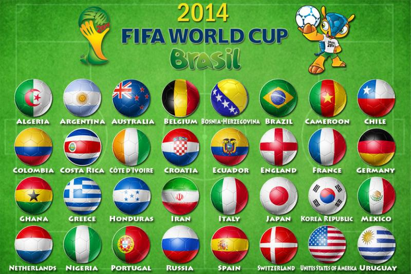 Lich thi dau WORLD CUP 2014 Brazil va ket qua World Cup 2014 - 3