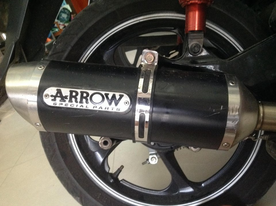 Po do Arrow co phu hop cho Nouvo SX - 2