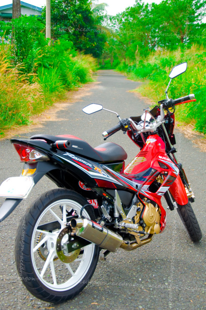 Suzuki Raider do den ham ho va dep la cung bo so gay doc hai - 15