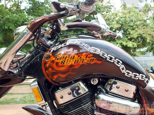 Suzuki Intruder co may moi cua Ghost Rider - 7