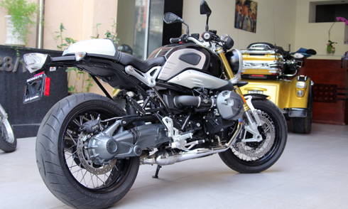 BMW R NineT 2014 do cafe racer chinh hang da co mat tai Viet Nam - 2