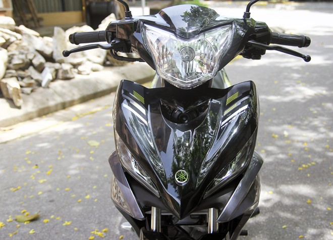 Can canh Yamaha Exciter RC 2014 phien ban mau xam - 5