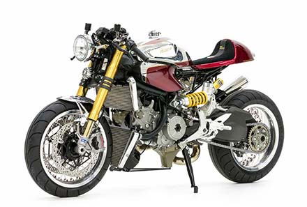 Ducati 1199 Panigale S phien ban Cafe Racer - 2