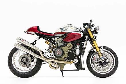 Ducati 1199 Panigale S phien ban Cafe Racer - 3