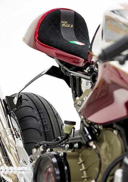 Ducati 1199 Panigale S phien ban Cafe Racer - 8