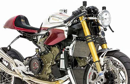 Ducati 1199 Panigale S phien ban Cafe Racer - 9